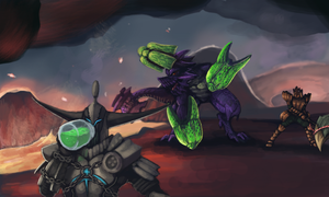 Hunt a Brachydios by Orphenoch