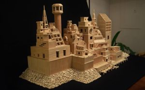 Bob's Toothpick City by Bob Morehead by ToothpickCity
