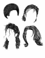 All styles of hair of michael by countrygirl16mj