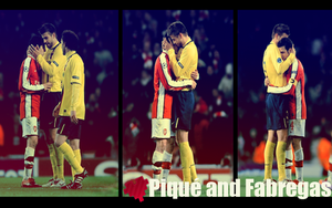 Pique and Fabregas...love? by MaryAUF