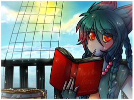 .:Reading After Some Swimming:. by Vanilliana