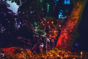 The Warden - Maiev Shadowsong by emilyrosa