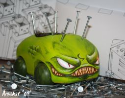 mean green munny machine by Anvikit