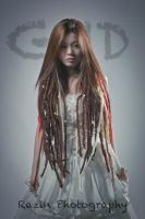 Dreadlocks Bride by Raz1n