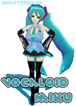 vocaloidMiku by chatterHEAD