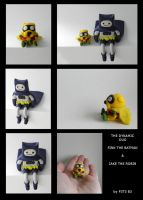 More photos of Finn The Batman And Jake The Robin by P3T3B3