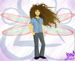 Dragonfly Claudio by Waffle-the-kitten