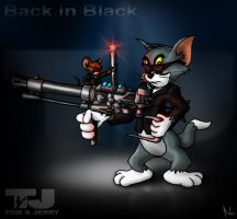 Tom and Jerry are MIB by Natal-ee-a