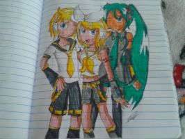 The Vocaloids by BleedColor2878