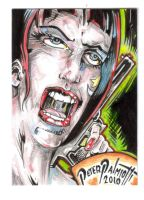Bright Eyes trading card 4 War by PeterPalmiotti