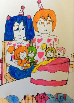 Miku and Nestie's Kids' Birthday by NestieBot