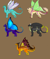 Fairy Dragon Pointables by Elzux