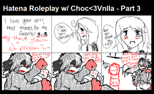 Hatena Poleplay Part 3 by PukingRainbow