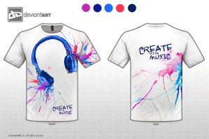 Create with Music by Sabinalibertad
