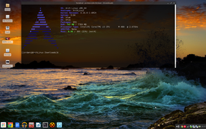Arch Linux Chrome OS crossover october 2014 by fetyr2004