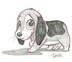 Sad Beagle by tombancroft