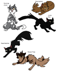 Five Freinds by jayfeather55220