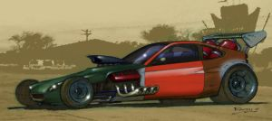 Honda Insight 'Rat Rod' by tincap