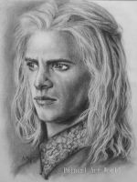 Viserys Targaryen - Game of thrones by Painirl