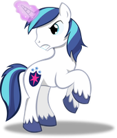 Shining Armor (Using Magic) by TheShadowStone