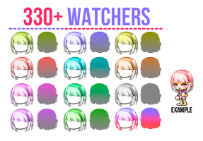 330+ Watchers Giveaway | by paiffe