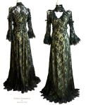 Dress olive black, Somnia Romantica by M. Turin by SomniaRomantica