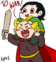 MARVEL: tiny Asgardians by AppleCherry