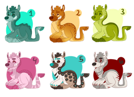 Smiroo adoptable Batch -Open- by tootie-palace