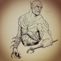 Azog by jackiemakescomics