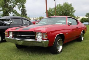 Red 'N Black Suits The Chevelle by KyleAndTheClassics