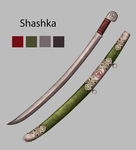 Weapon Concept - Shashka by Leongeds