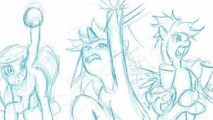MLP World Cup 03 WIP01 by bipole