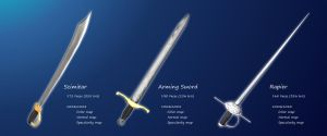 Low Poly Sword Set by Mig26