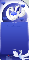Free Lugia Journal skin by DBluver