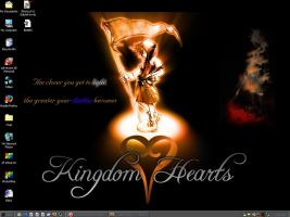 Kingdom Hearts Wallpaper by CartoonChixRSexy