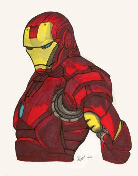Iron Man by Wolfhusky123