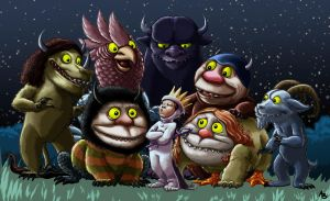 where the wild things are by shadowstheater