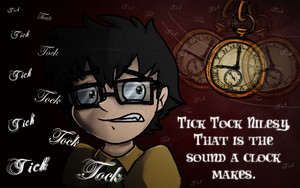 Tick, Tock, Goes The Clock... by Purrlstar