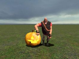 Heavy With His Pumpkin by dylrocks95