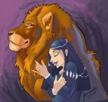 For the Love of Aslan by sighthoundlady
