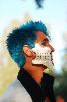 Grimmjow cosplay profile 2 by KingGrimm6