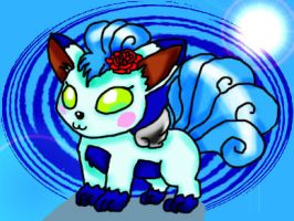Another Icy Vulpix by ClannadLover22