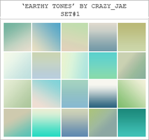 Earthy Toned Gradients by crazyjae