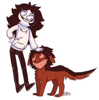 the boy and the pup by Comickit
