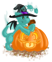 Halloweeny Duhec by Jellio