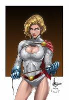 POWER GIRL by alt01414sak