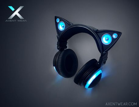 Axent Wear Cat Ear Headphones by yuumei