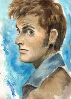 10th Doctor by BowieKelly