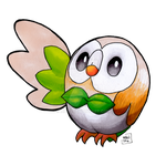 Rowlet by MHG5