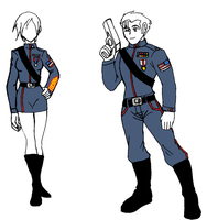 Blue Star Uniform 1 by Duelistabbeyryou
